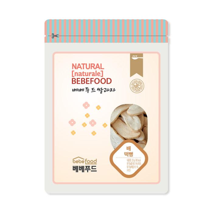 베베푸드 쌀과자(배) 떡뻥