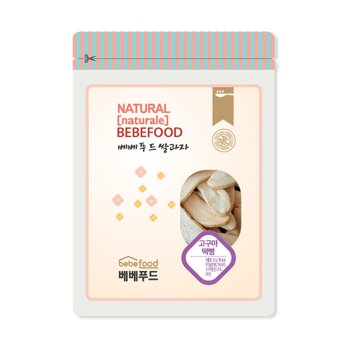 베베푸드 쌀과자(고구마) 떡뻥